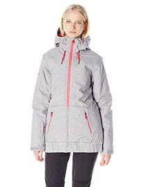 Roxy SNOW Junior's Valley Hoodie Snow Jacket, Heritage