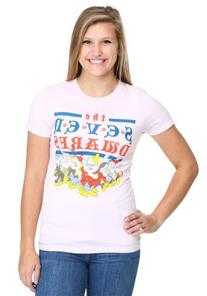 Womens Snow White Vintage Seven Dwarfs T-Shirt