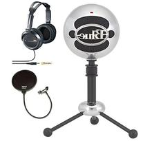 Blue Microphones Snowball USB Microphone in Brushed Aluminum