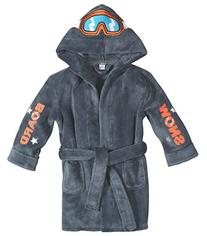 Petit Lem Snowboard Robe - Gray-2/3