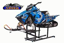 Sledez Snowmobile Lift / Work Stand with Wheel Kit