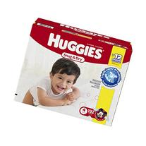 Huggies Snug & Dry Diapers, Size 4, 192 Count