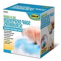 Soap Dispenser Dispensing Scrubber Saver Loofah Liquid Gel