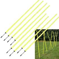 BlueDot Trading Soccer Agility Training Poles , 5' 8-1/4