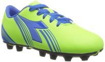 Diadora Soccer Avanti MD JR Soccer Shoe ,Lime Green/Dark