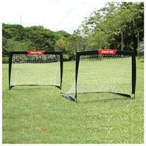 Net Playz Soccer Easy Playz Fold-Up Training Goal Set of 2