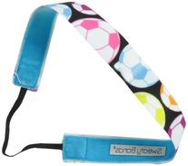 Sweaty Bands Soccer Star Headband, Neon Multi/Black, 1-Inch