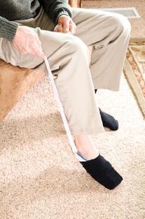 Carex Sock Aid Easy On Easy Off, Sock Slider and Sock