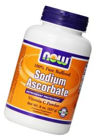 NOW Foods Sodium Ascorbate, 119 Servings-  8 Ounce