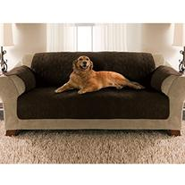 Yes Pets Sofa Size Quilted Micro Suede Furniture Protector,