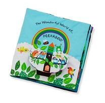 Melissa & Doug Soft Activity Baby Book - The Wonderful World