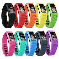 SnowCinda Soft Rubber Replacement Bands Fitness Wristbands