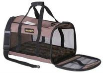 Petmate Soft-Sided Kennel Cab Pet Carrier,Taupe,Up to 20lbs
