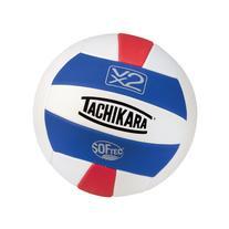 Tachikara SofTec Volleyball White Scarlet Royal