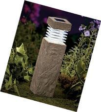 """11"""" Solar Garden Pillars- Concrete"""