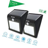 Solar Motion Sensor Lights, Diateklity Super Bright Outdoor