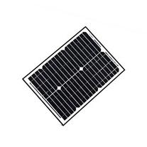 ALEKO Solar Panel Monocrystalline 20W for any DC 12V