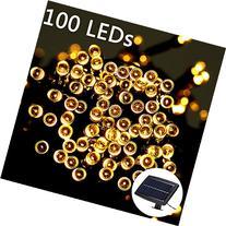 Weanas Solar Power Fairy String Light 100 LEDs Warm White