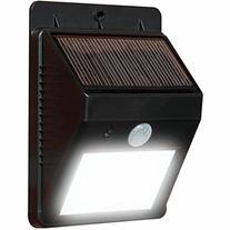 Ecandy Solar Powered Motion Sensor Outdoor LED Light