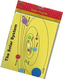 The Solar System Foam Shaped Puzzle