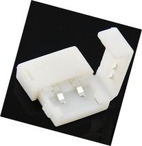 10mm 2-pin Solderless Clip-on Coupler Connector for 5050 LED