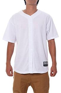 Victorious Solid Victorious Baseball Jersey BJ32 - WHITE - X