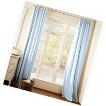 Carousel Designs Solid Lake Blue Drape Panel 64-Inch Length