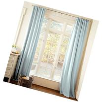 Carousel Designs Solid Robin's Egg Blue Drape Panel 64-Inch