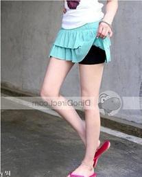 Solid Short Cotton Women Leggings
