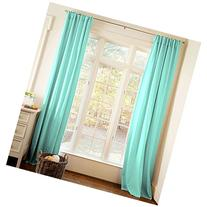 Carousel Designs Solid Teal Drape Panel 64-Inch Length