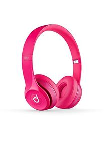 Beats Solo2 Wired On-Ear Headphones - Pink