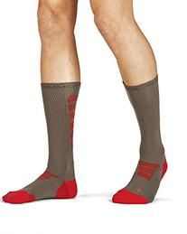 Tommie Copper Men's Performance Sonar Athletic Crew Socks,