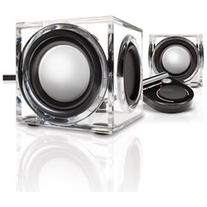 SonaVERSE CRS 2.0 USB Powered Speakers w/ Clear Acrylic