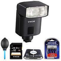 Sony HVL-F32M MI  Compact Flash Accessory Bundle Includes: