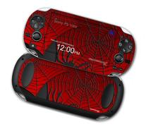 Sony PS Vita Skin Spider Web by WraptorSkinz