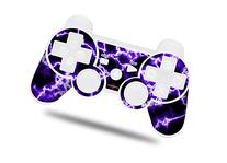 Sony PS3 Controller Decal Style Skin - Electrify Purple