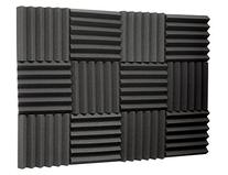 Silverback Sound Dampening Foam, 2 Inch Thick, 1ft x 1ft, 12