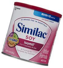 Similac Soy Isomil Baby Formula - Powder - 12.4 oz - 6 pk