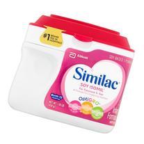 Similac Soy Isomil OptiGro Soy-Based Powder Infant Formula
