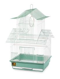Prevue Hendryx SP1720-4 Shanghai Parakeet Cage, Green and