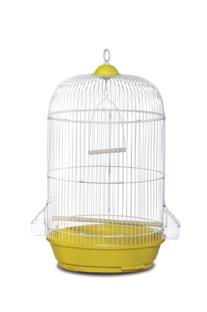 Prevue Hendryx SP31999Y Classic Round Bird Cage, Yellow