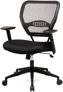 Space Air Grid Series Mid Back Swivel Chair