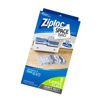 Ziploc Space Bag 3 count Large Heavy-Duty Flat Bag