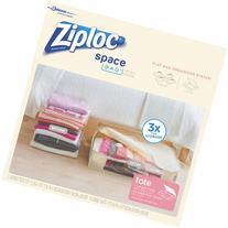 Ziploc Large Space Bag Vacuum Seal Bags and Jumbo Tote, 5-