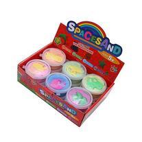 Lixin Space Sand-kit's Sand & Sand Molds for Kids Sand