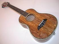 Oscar Schmidt Spalted Mango TENOR Acoustic/Electric Ukulele