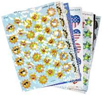 Trend Enterprises Sparkle Stickers Holiday Celebrations