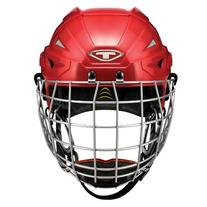Tour Hockey Spartan Gx Hocley Helmet with No Cage, Black,