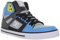 DC Men's Spartan Hi WC Fashion Sneaker,DC Navy/Athletic Red,