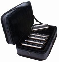 Hohner SPC Case of Five Special 20 Harmonicas in Zippered